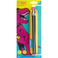 Mustard T-Rex Pencil Case