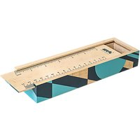 Mini Moderns Wooden Slide Pencil Box
