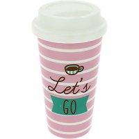 Pusheen Travel Mug, Pink