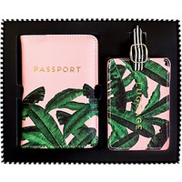 Alice Scott Luggage & Passport Travel Set