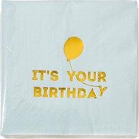 Talking Tables Birthday Balloon Napkins