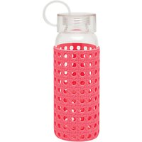 kate spade new york Glass Water Bottle, Pink