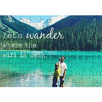 A Piece Of Personalised Photo Jigsaw Puzzle