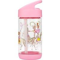 Cath Kids Children's Prancing Ponies Drinking Bottle, Pale Pink