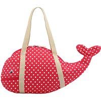 Cath Kids Children's Little Spot Novelty Whale Bag, Red