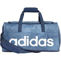Adidas Linear Performance Duffel Bag, Small, Raw Steel