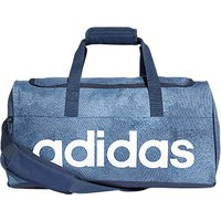 Adidas Linear Performance Duffel Bag, Medium, Raw Steel