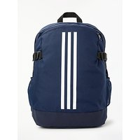 adidas 3 Stripes Power Backpack, Collegiate Navy