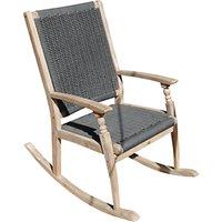 LG Outdoor Panama Single Rocker Chair, FSC-Certified (Acacia Wood)
