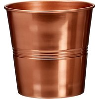 Garden Trading Large Copper Plant Pot, H16cm