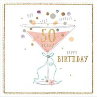 Hotchpotch 50th Birthday Card