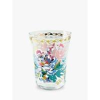 Anthropologie Piac Ciao Bella Floral Glass Tumbler, 310ml
