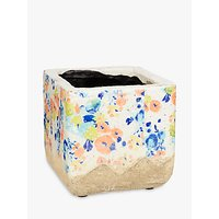 Anthropologie Naeva Plant Pot, Multi, Medium
