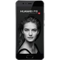 """Huawei P10, Android, 5.1"""", 4G LTE, SIM Free, 64GB, Black"""