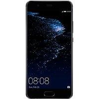 """Huawei P10 Plus, Android, 5.5"""", 4G LTE, SIM Free, 64GB, Black"""