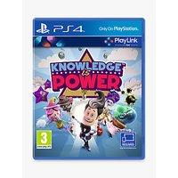Knowledge is Power, PS4 PlayLink