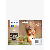 Epson Squirrel T3788 Inkjet Printer Cartridge Multipack, Pack of 6