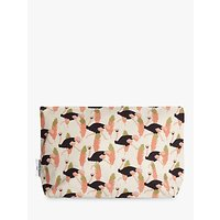 Fenella Smith Ostrich Make-up Bag, Large