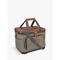 Croft Collection Foldable Picnic Cooler Bag, Green, 15L