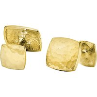 Dower & Hall Engravable Square Cufflinks