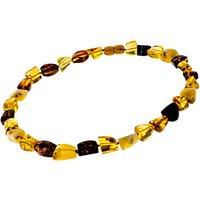 Be-Jewelled Amber Necklace, Lemon/Cherry