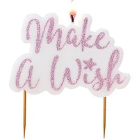 Ginger Ray Iridescent 'Make A Wish' Candle