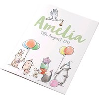 Letterfest Personalised New Baby Book
