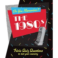 Do You Remember? The 1980s Quiz Book