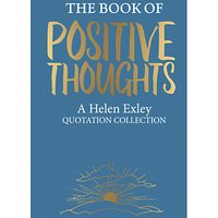 The Book Of Positive Thoughts by Helen Exley