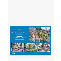 Gibsons The Gardeners Round, Jigsaw Puzzles, 4 x 500 Pieces
