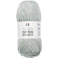 Rico Cotton Metallise Fashion Yarn, 50g
