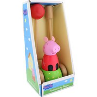 Peppa Pig Wooden Push Along Peppa