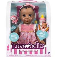 Luvabella Baby Doll Dark Brown Hair