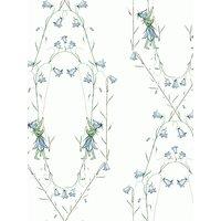 Bor ¥stapeter Bl ¥klocka Wallpaper, Blue 6233