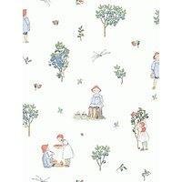 Bor ¥stapeter Putte Wallpaper, Multi 6234