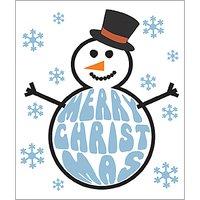 Portfolio Frosty Christmas Card