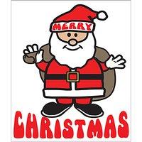 Portfolio Santa Christmas Card