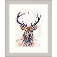 Lisa Jayne Holmes - Majestic Stag Framed Print, 47 x 57cm