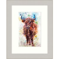 Lisa Jayne Holmes - Little Moo Framed Print, 37 x 47cm