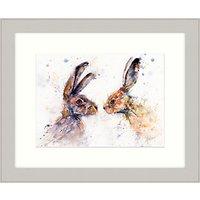 Lisa Jayne Holmes - Hot Gossip Framed Print, 57 x 47cm
