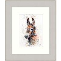 Lisa Jayne Holmes - D Is For Donkey Framed Print, 37 x 31cm