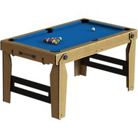 BCE Razor Rolling Lay Flat 5ft Pool Table, Blue