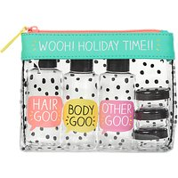 Happy Jackson Holiday Travel Pouch