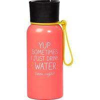 Happy Jackson 'Just Water' Water Bottle