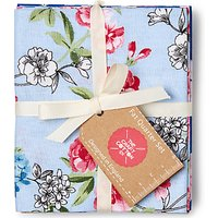 Craft Cotton Co. English Garden Print Fat Quarter Fabrics, Pack of 5, Blue