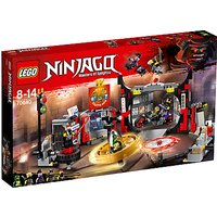 Lego Ninjago 70640 Sog Headquarters