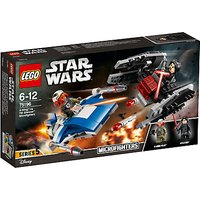 LEGO Star Wars: The Last Jedi 75196 A-Wing Vs. Tie Silencer