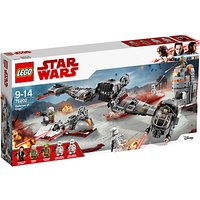 LEGO Star Wars: The Last Jedi 75202 Defense of Crait