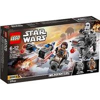 LEGO Star Wars: The Last Jedi Ski Speeder Vs First Order Walker Microfighters