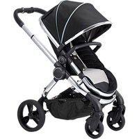 iCandy Peach Chrome Pushchair and Carrycot, Beluga